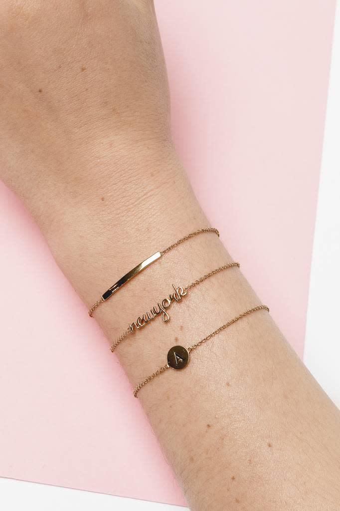 Armband Souvenir Bar Gold-2