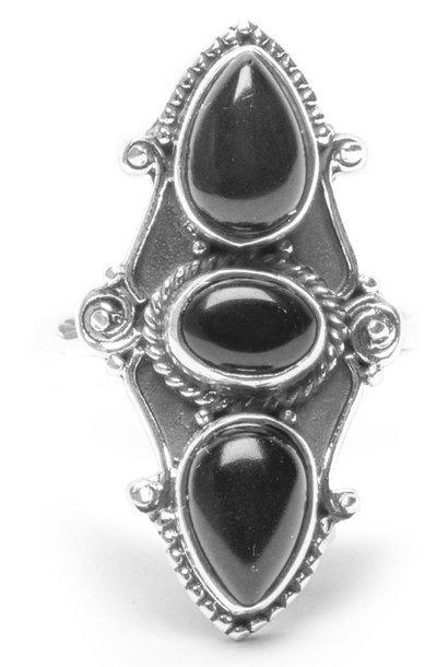 Ring Tripple Black