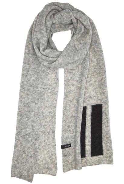 Sjaal Light Grey Melange