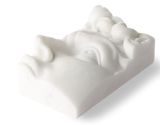 Standaard polystone david brick 9x7x16cm White-4