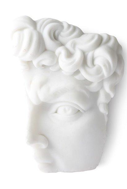 Wanddeco David 14x20cm White