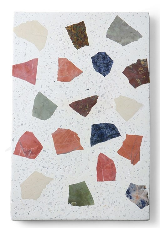 Schaal marble terrazzo board 30x25cm Multi-1