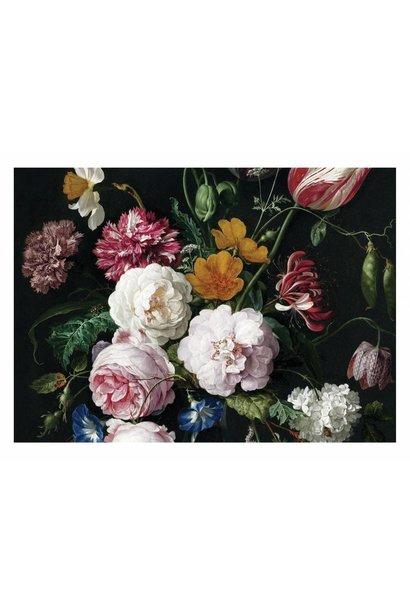 Behang Golden age Flowers 389.6x280cm