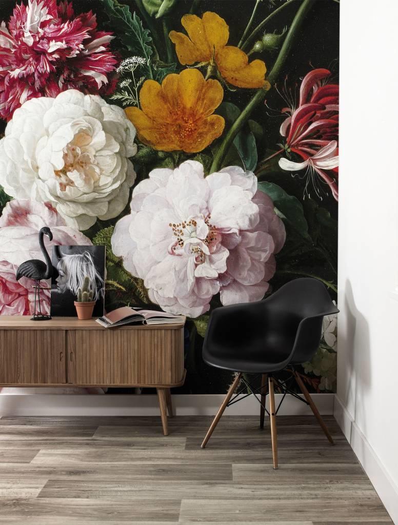Behang Golden age Flowers 389.6x280cm-2