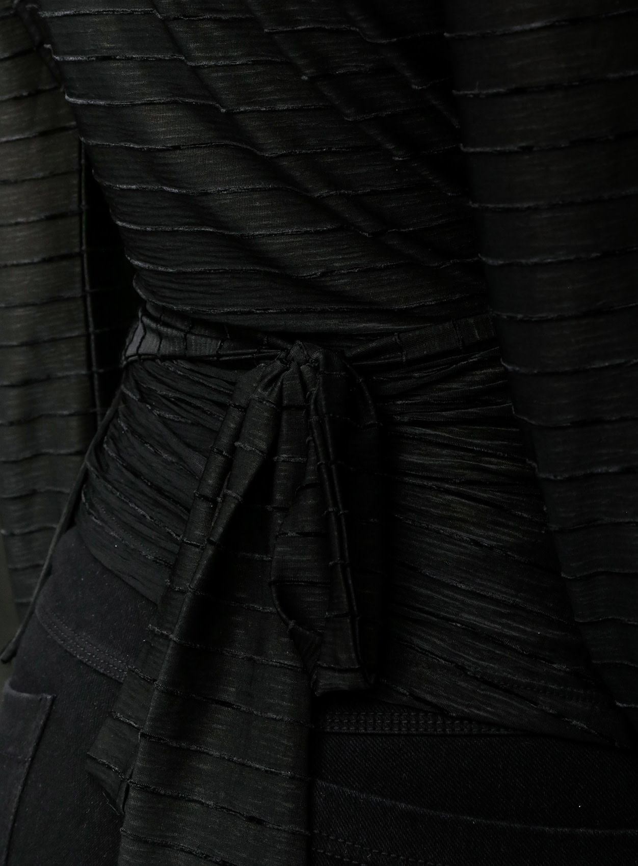 Top Samantha wrap Black-3