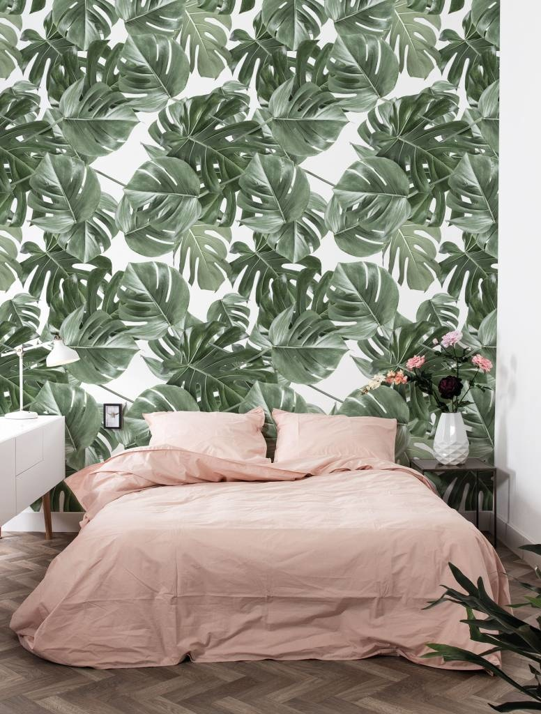 Behang 2 strook Botanical Monstera 97.4x280cm-2