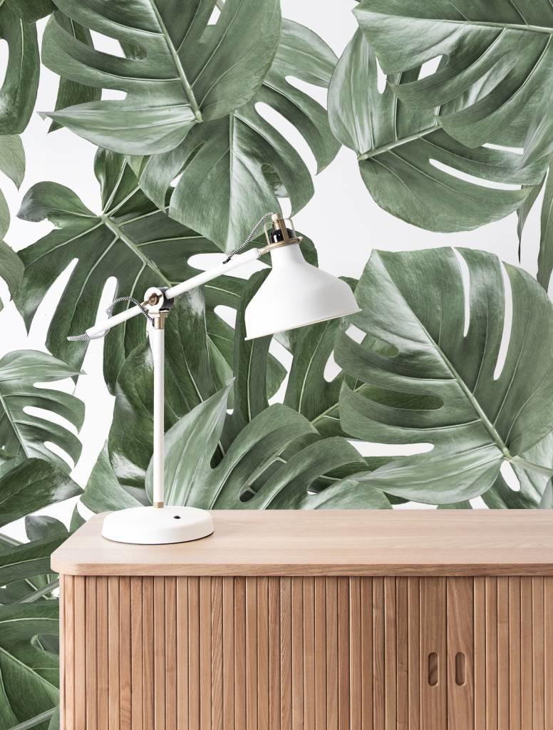 Behang 2 strook Botanical Monstera 97.4x280cm-4