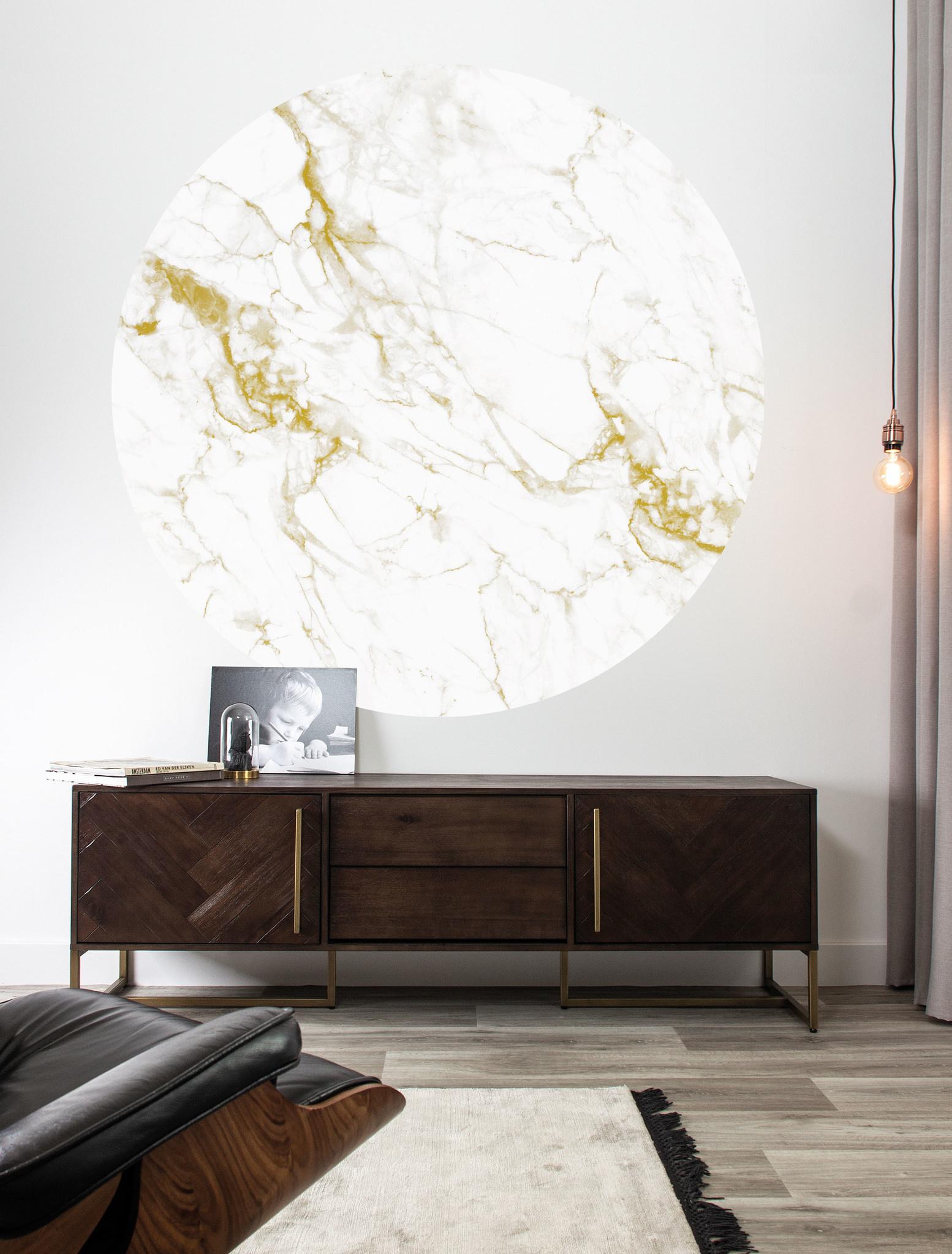Behang Marble Round Ø190cm-2