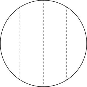 Behang Marble Round Ø190cm-3