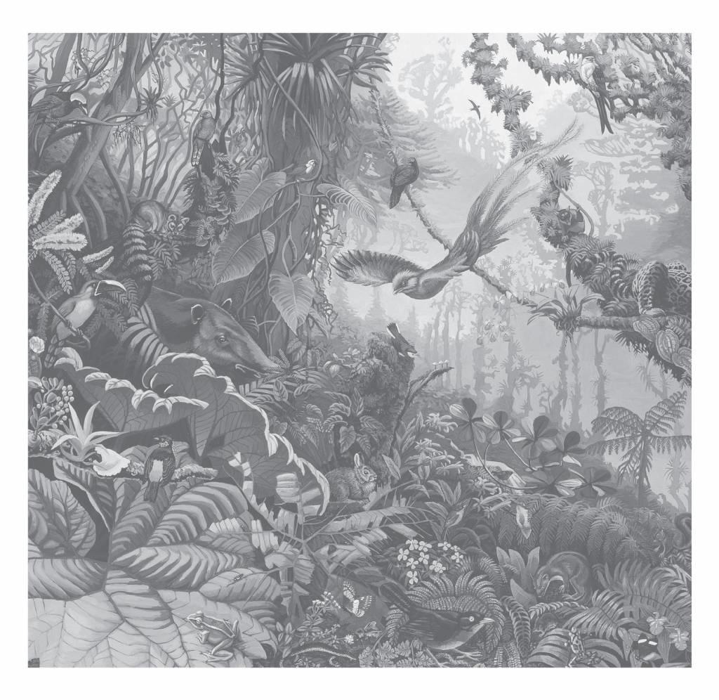 Behang Tropical Landscapes 292.2x280cm-1