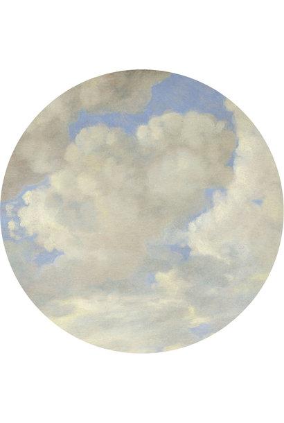 Behang Golden age clouds XL Round Ø237.5cm