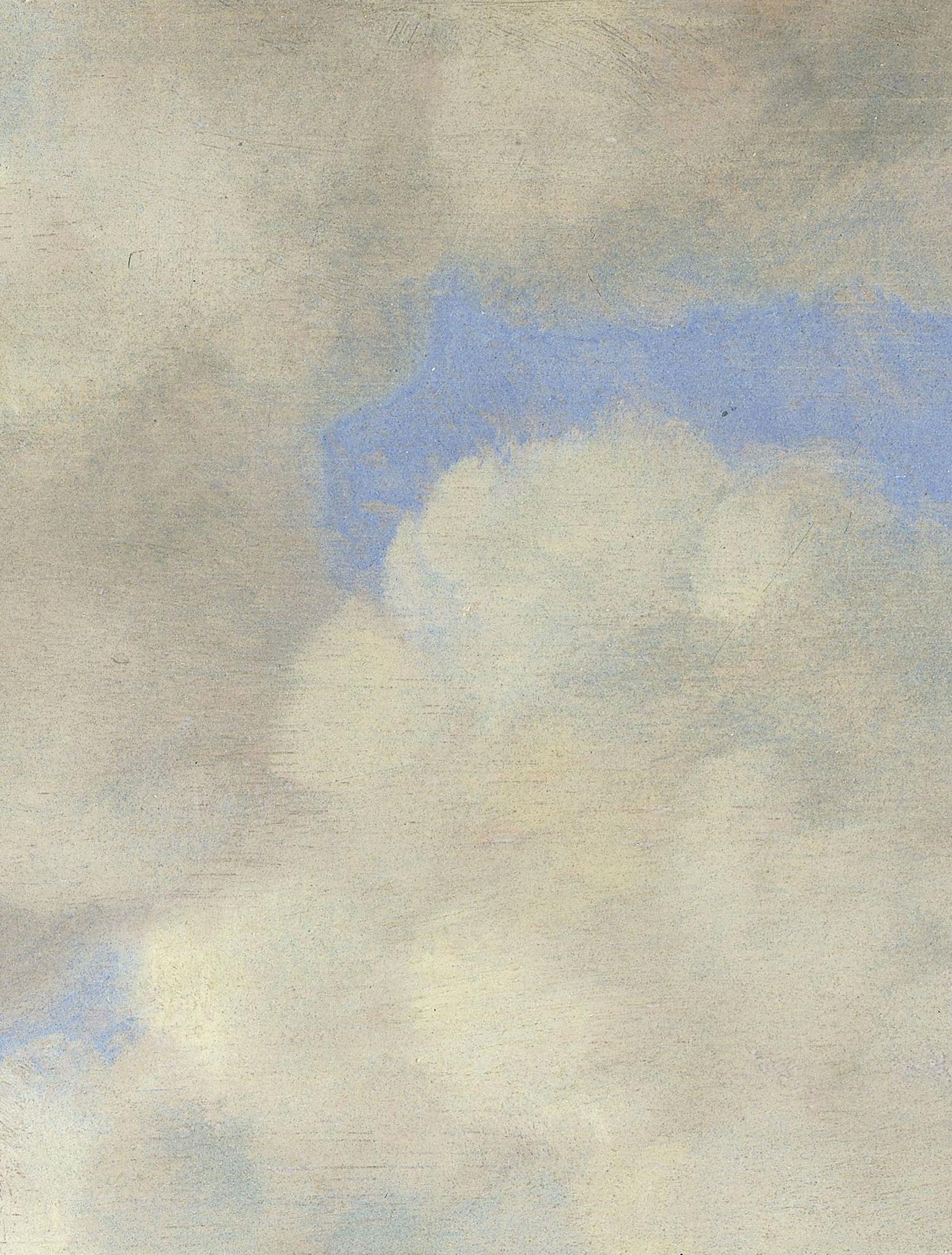 Behang Golden age clouds XL Round Ø237.5cm-4