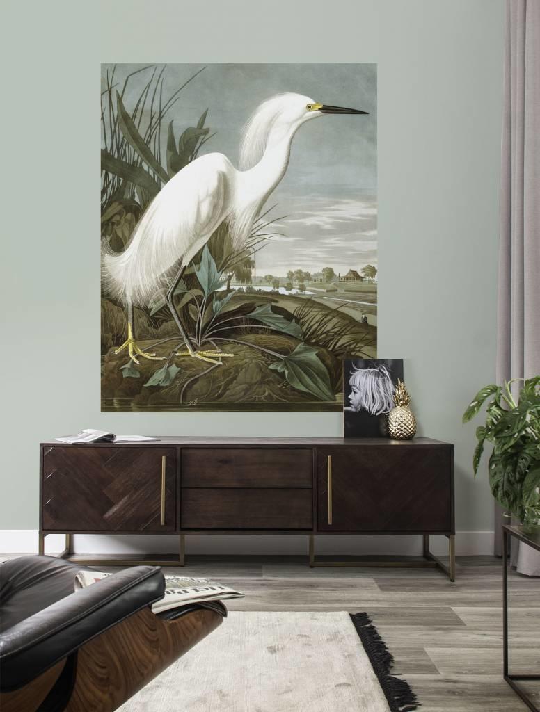 Behang Snowy Heron 142.5x180cm-2