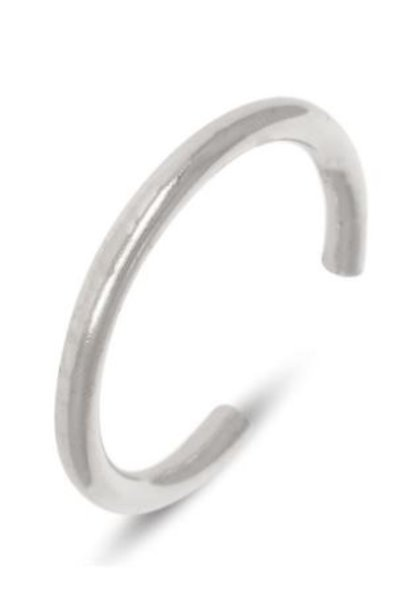 Oorring PER STUK Tiny Hoop 12mm Sterling Silver