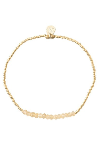 Armband refined citrine Gold Yellow