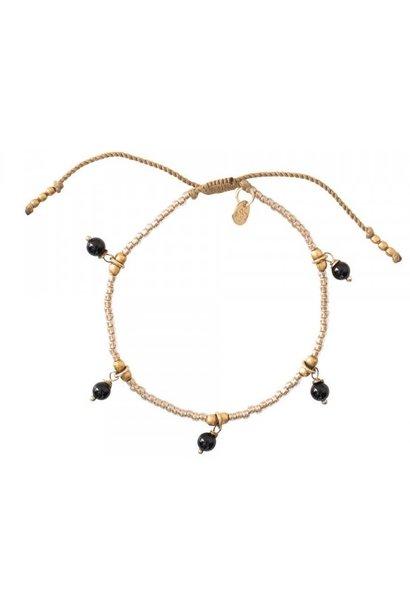Armband Dreamy Onyx Gold Black