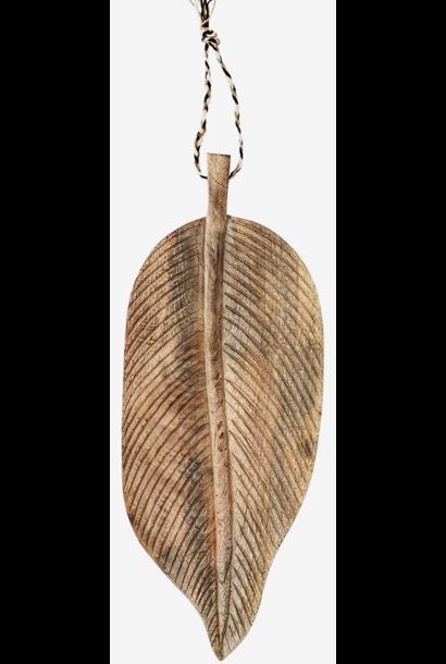 Dienblad mango wood 38x15cm Natural