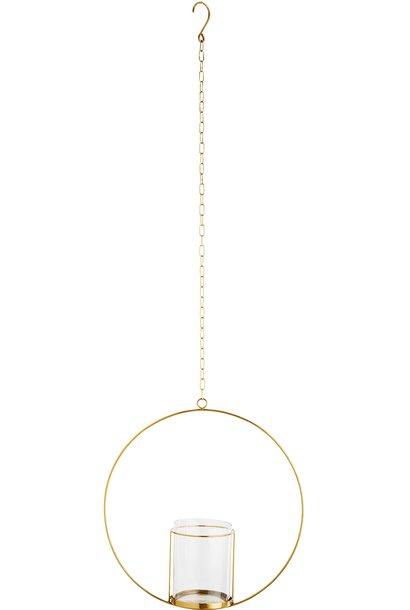 Hangdecoratie Hurricane Ø40cm Gold