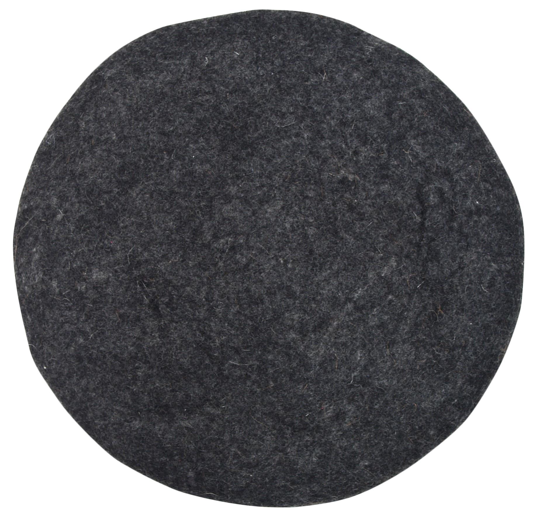 Kussen felt seat 35x4cm Charcoal-1