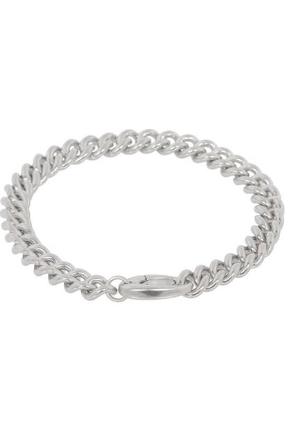 Armband Curb 18cm Sterling Silver