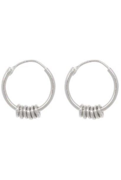 Oorbellen PER PAAR Multi Ring Hoop Sterling Silver