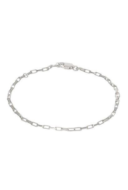 Armband Long Link Bracelet Sterling Silver