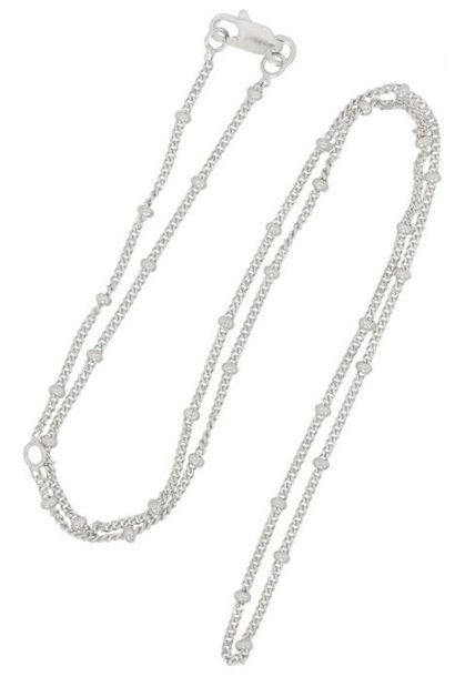Ketting Saturn Chain Necklace Sterling Silver