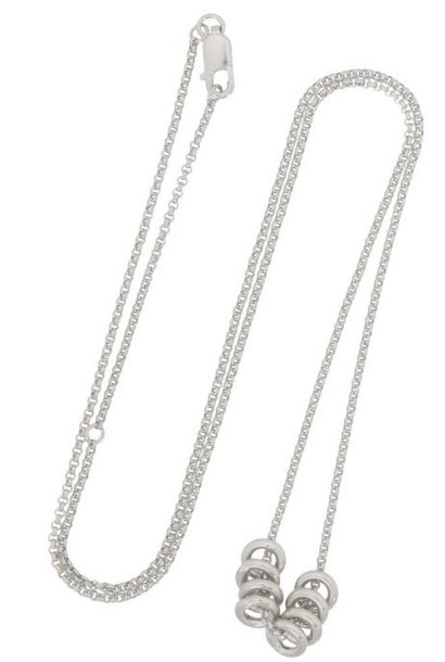 Ketting  Multi Orbit Necklace Sterling Silver