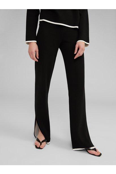 Broek Maxima knit Black