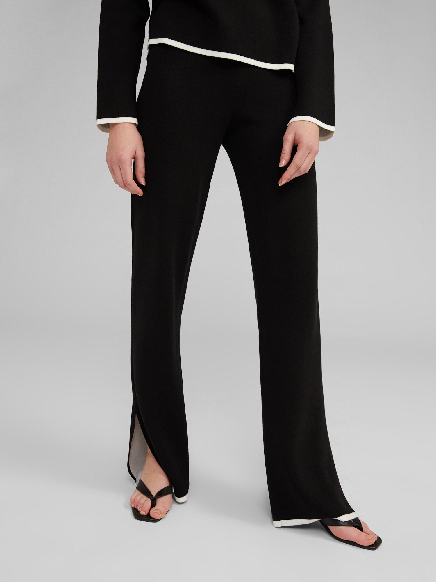 Broek Maxima knit Black-1