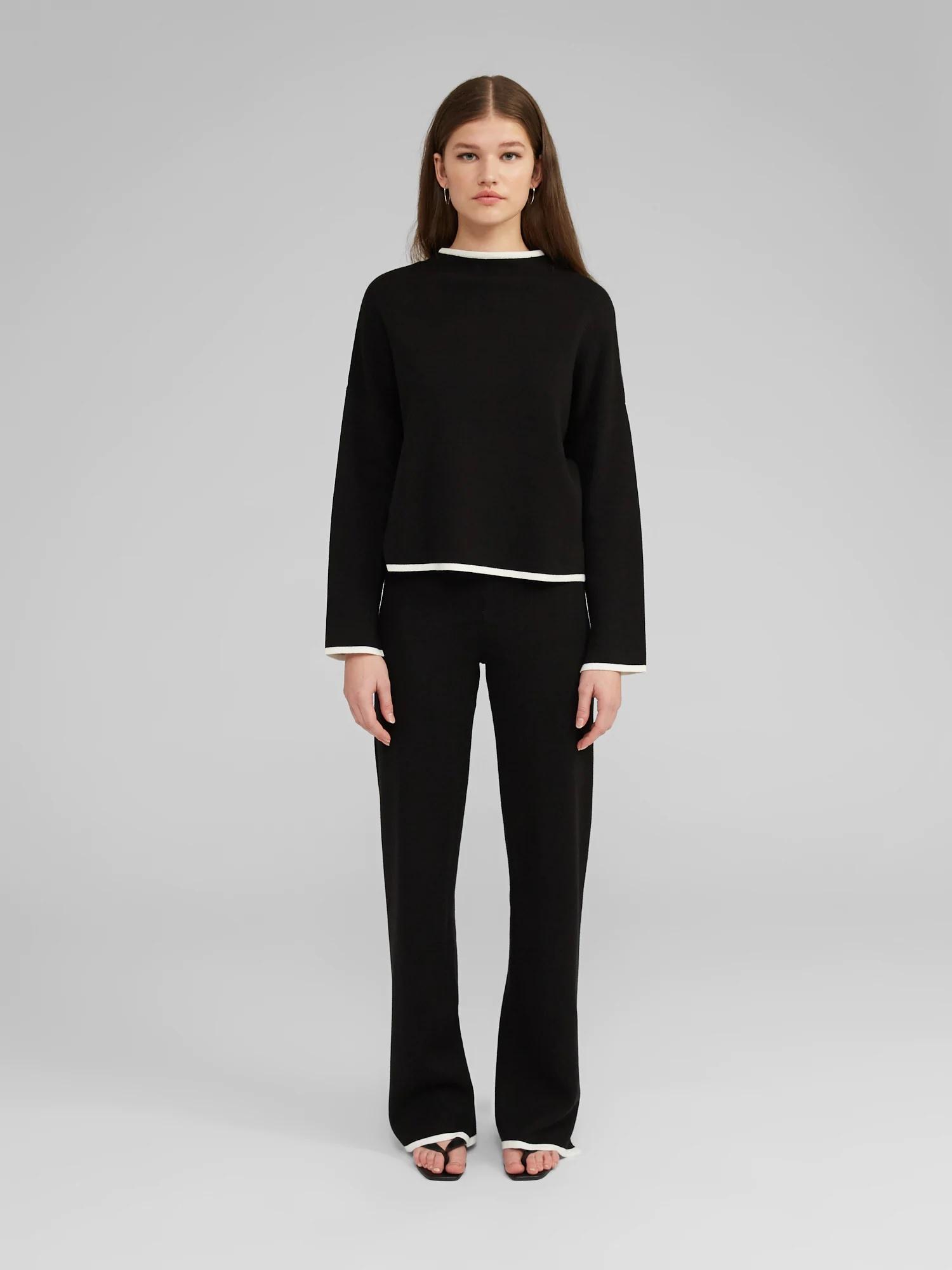 Broek Maxima knit Black-3