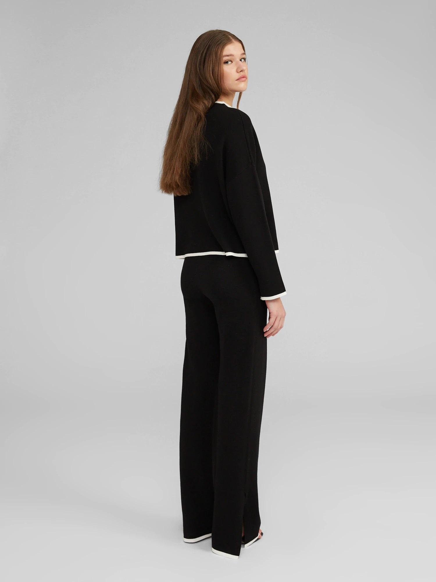 Broek Maxima knit Black-5