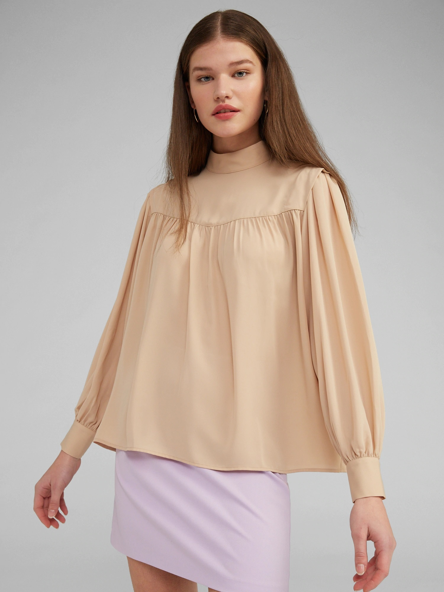Blouse Ginny Nude-1