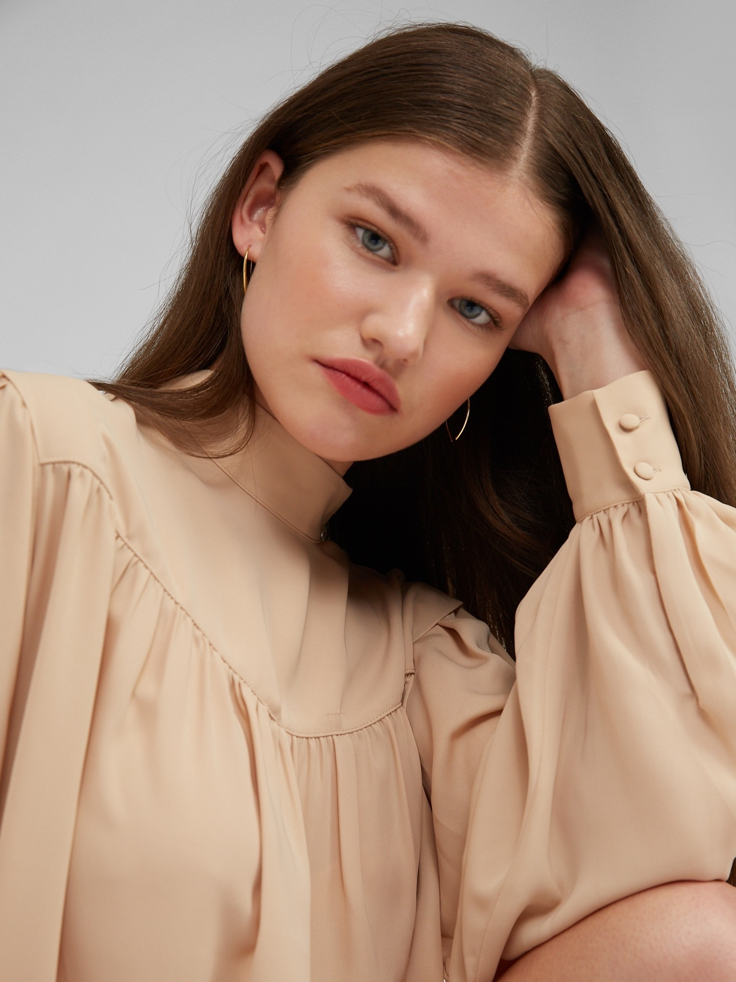 Blouse Ginny Nude-2