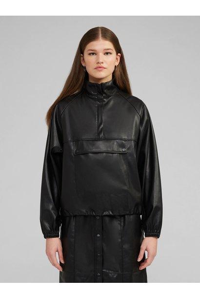 Sweaterjack Bene Fake leather Black