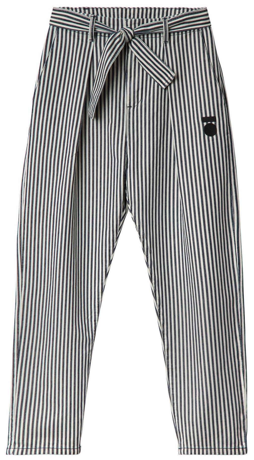 Broek High waist stripe Kit-1