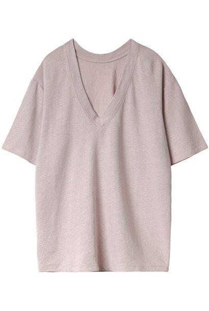 T-shirt V-neck tee Zinc