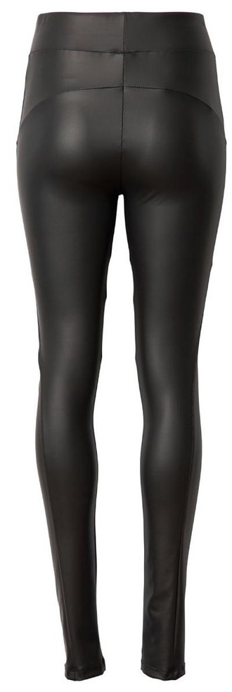 Legging Leatherlook Yoga Black-2