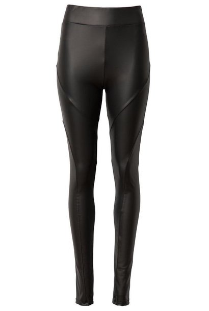 Legging Leatherlook Yoga Black