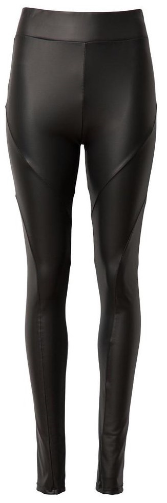 Legging Leatherlook Yoga Black-1