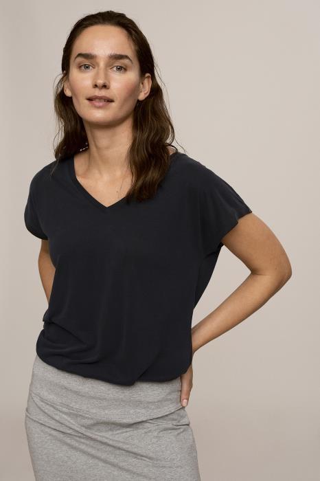 T-shirt KAlise SS Washed Black-3