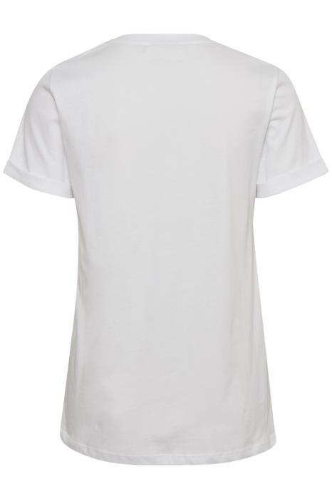 T-shirt KAfarrie Optical White-4
