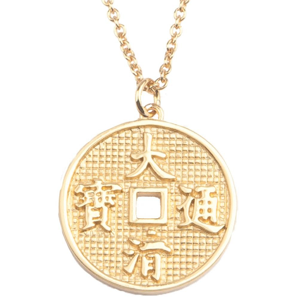 Ketting East Lucky Coin Gold-1