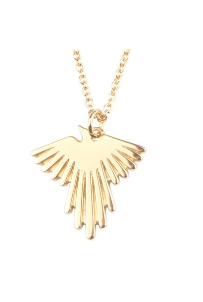Ketting Souvenir Eagle Gold