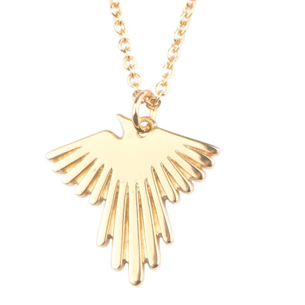 Ketting Souvenir Eagle Gold-1