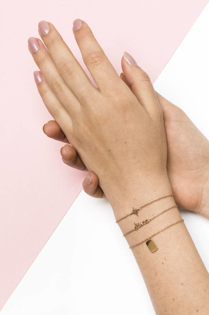 Armband Souvenir Rectangle Gold-2