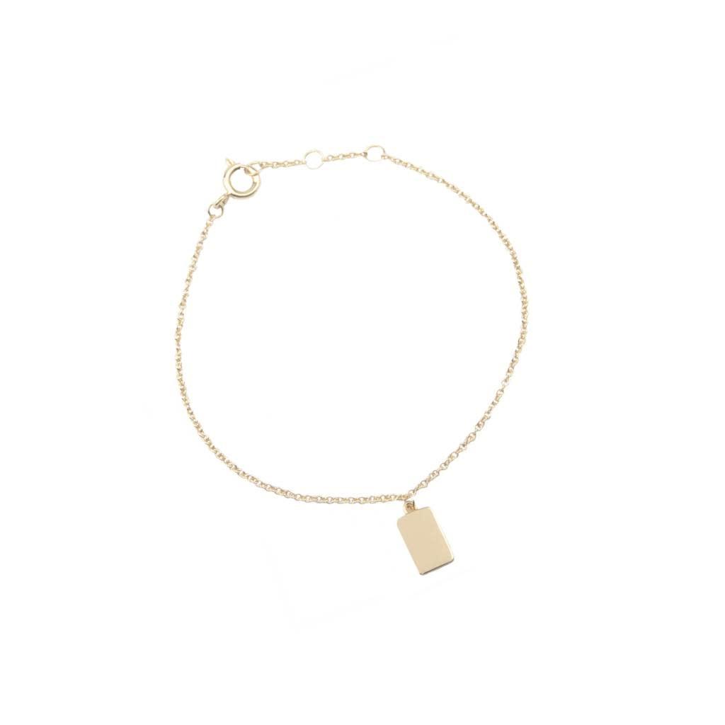Armband Souvenir Rectangle Gold-3