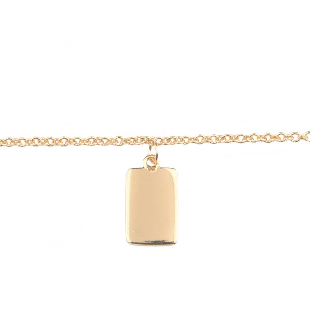 Armband Souvenir Rectangle Gold-1