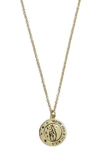 Ketting All the Luck Circle Gold
