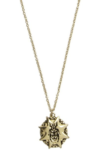 Ketting Beatle Starry Circle Gold